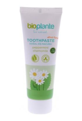 BioPlante Organik Florürsüz Diş Macunu - Nane ve Papatya Özlü 75 ml.