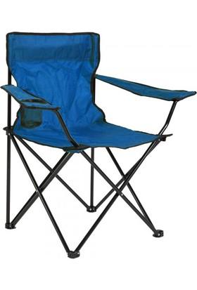 Evolite Katlanabilir Kamp Koltuğu Mavi