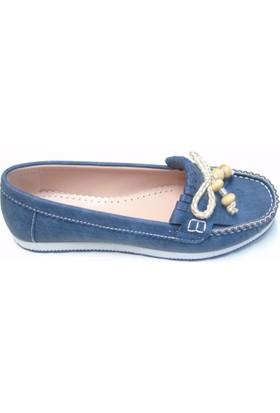 Leydi Kadın Mavi Kot Babet