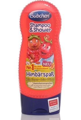 Bübchen Çocuk Şampuanı Ve Duş Jeli Frambuaz 230 ml