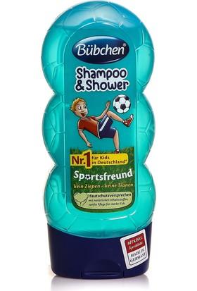 Bübchen Çocuk Şampuanı Ve Duş Jeli Sport 230 ml