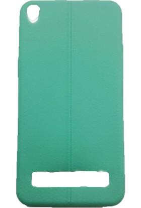 Sunix Vestel V3 5020 Dikişli Silikon Kılıf Yeşil