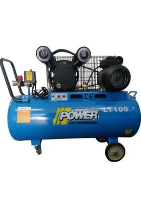 Power 100 LT Yağlı Kompresör