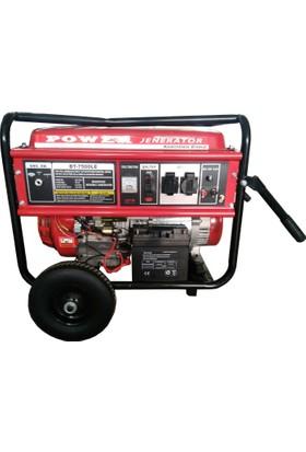 Power BT7500 LE 6 Kva Benzinli Jeneratör (Tekerlikli)