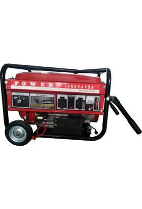Power BT3800 LE 3 Kva Benzinli Jeneratör (Tekerlekli)