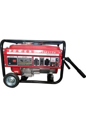 Power BT3800 3 Kva Benzinli Jeneratör (Tekerlekli)