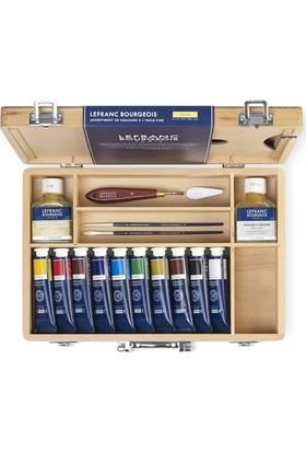 Lefranc & Bourgeois Ahşap Kutu - Yağlı Boya Set