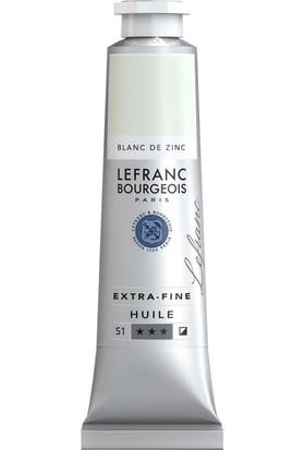 Lefranc & Bourgeois Extra Fine Yağlı Boya 40Ml N:009 Zinc White