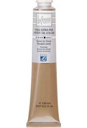 Lefranc & Bourgeois Huile Extra Fine Yağlı Boya 150Ml - Titanium Zinc White