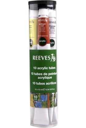 Reeves Akrilik Boya Seti 10 x 10 Ml