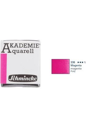 Schmincke Akademie Aquarell Suluboya 1/2 Tablet Magenta