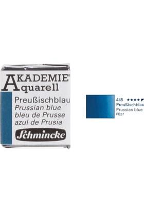 Schmincke Akademie Aquarell Suluboya 1/2 Tablet Prussian Blue