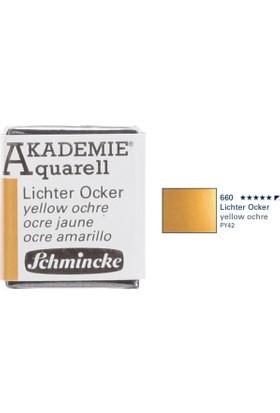 Schmincke Akademie Aquarell Suluboya 1/2 Tablet Yellow Orchre