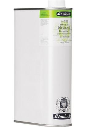 Schmincke Mussini Medyum 1 1000Ml Yağlıboya İnceltici N:50038