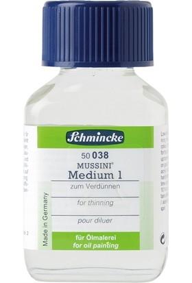 Schmincke Mussini Medyum 1 60Ml Yağlıboya İnceltici N:50038