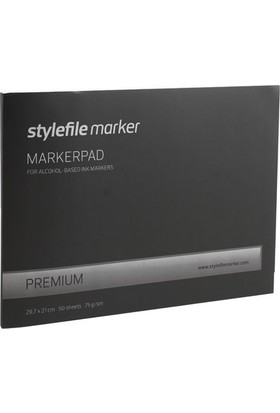 Stylefile Marker Pad A4 - 50Yp - 75Gr.