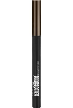 Maybelline New York Brow Tattoo Microblade Ink Pen Kaş Kalemi 130 Deep Brown