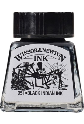 Winsor & Newton Winsor & Newton Çini Mürekkebi 14Ml - Noir Black