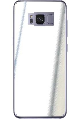 IPG Samsung Galaxy S8 5.8' (Gümüş - Krom Kaplama ) Arka Koruyucu