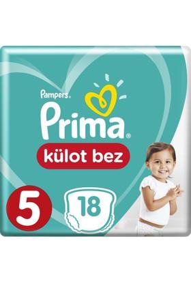 Prima Külot Bebek Bezi 5 Beden Junior Deneme Paketi 18 Adet