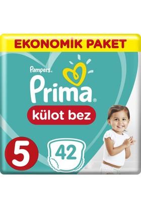 Prima Külot Bebek Bezi 5 Beden Junior Ekonomik Paket 42 Adet