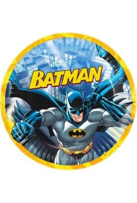 Balonevi Batman Lisanslı Karton Tabak