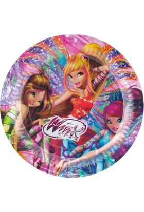 Balonevi Winx Lisanslı Karton Tabak