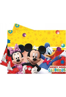 Balonevi Mickey Mouse Lisanslı Masa Örtüsü