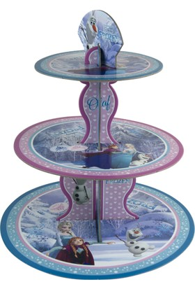 Balonevi Frozen Lisanslı Cupcake Stand