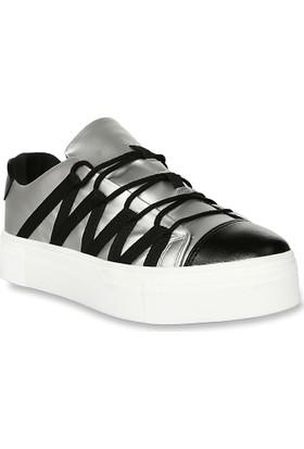 Iva Mae 1080- Gümüş Kadın Sneaker