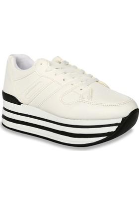 Iva Mae 1090- Beyaz Kadın Sneaker