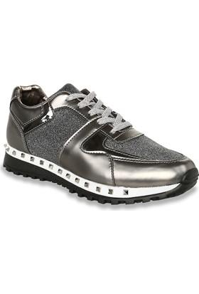 Iva Mae 1101- Mat Gümüş Kadın Sneaker
