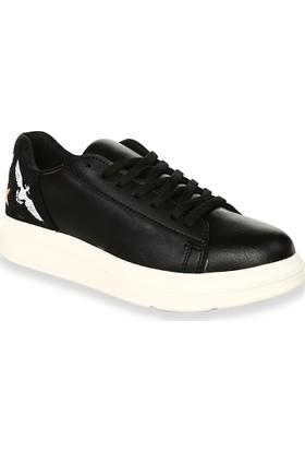 Iva Mae 1106- Siyah Kadın Sneaker