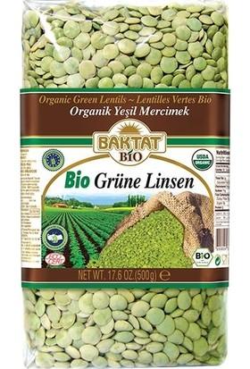 Baktat Organik Yeşil Mercimek 500 gr