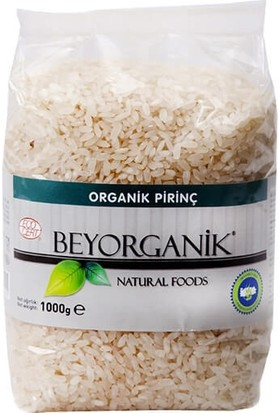 Beyorganik Organik Pirinç 1000 gr