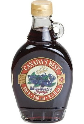Canada's Best Maple - Akçaağaç Şurup Bluebery 250 ml