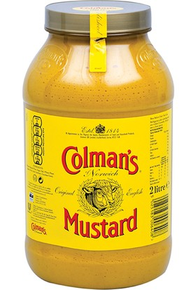 Colman's English Mustard (İngiliz Hardalı) 2 lt