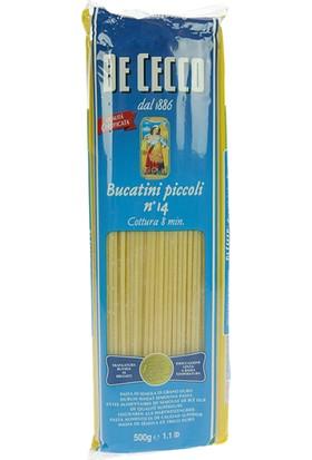 De Cecco Bucatini Piccolı Makarna 500 gr