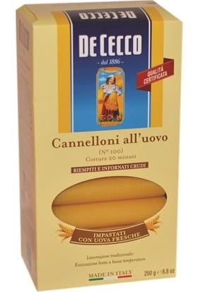 De Cecco Cannelloni Makarna 250 gr