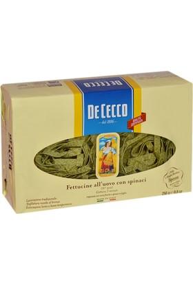 De Cecco Fettucine Con Spinachi (Ispanaklı) Makarna 250 gr
