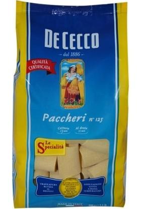 De Cecco Paccheri Makarna 500 gr