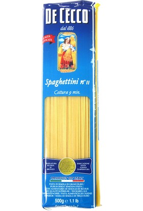 De Cecco Spaghettini Makarna 500 gr