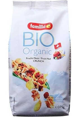 Familia Bio - Organic Meyveli - K.Yemişli 375 gr