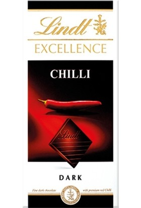 Lindt Excellence Chili 100 gr