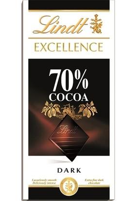 Lindt Excellence Dark %70 100 gr