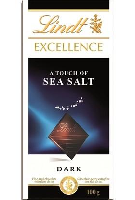 Lindt Excellence Sea Salt 100 gr
