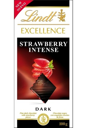 Lindt Excellence Strawberry 100 gr