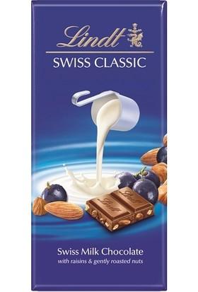 Lindt Milk Raisin Hazelnut 100 gr