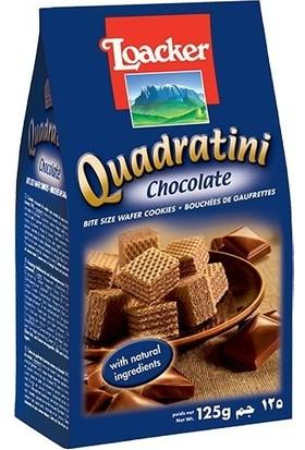 Loacker Çikolata Kreması Dolgulu Küp Gofret 125 gr