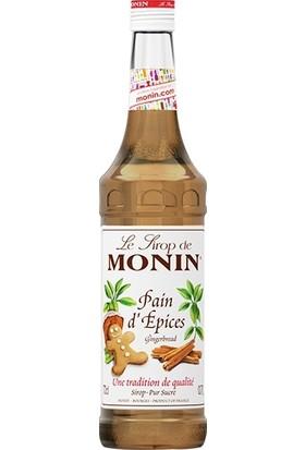 Monin Gingerbread Syrup - Zencefilli Kurabiye Şurup 70 cl